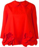 Comme des Garcons floral blouse - women - Cotton - M
