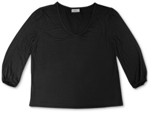 Style&Co. Style & Co V-Neck Top, Created for Macy's