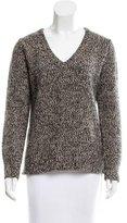 Equipment Tweed Wool Sweater