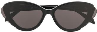 Alexander McQueen Eyewear Tinted Cat-Eye Sunglasses