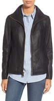 Andrew Marc Lambskin Leather Jacket (Online Only)