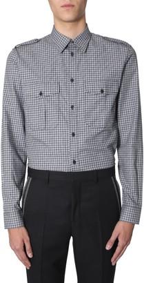 Givenchy Contrasting Checks Shirt