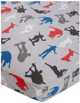 Catherine Lansfield Skaters Cotton Rich Fitted Sheet