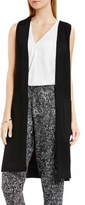 Vince Camuto Patch Pocket Open Front Long Vest