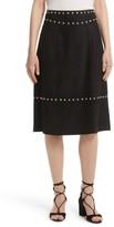 Kate Spade Women's Studded Suede Skirt
