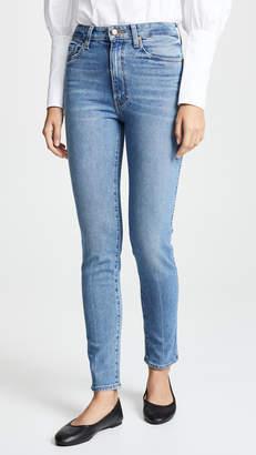 KHAITE Vanessa High Rise Straight Jeans
