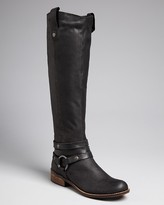Steve Madden STEVEN BY Tall Harness Boots - Stingrey