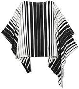 Vince Camuto Striped Poncho Blouse
