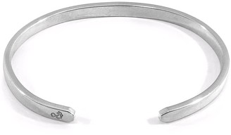 Anchor & Crew Reynolds Element Midi Geometric Silver Bangle