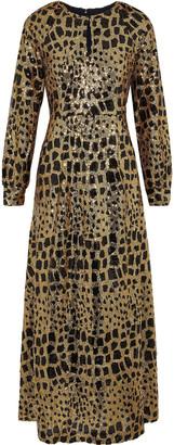 Antik Batik Baguy Sequined Tulle Maxi Dress