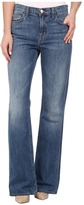 J Brand Sabine High Rise Relaxed Flare in Swan Song