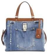 Valentino Scout Joylock Medium Shoulder Bag