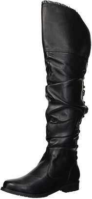 Ellie Shoes Women's 181-TYRA Over The Knee Boot