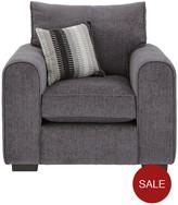 Cavendish Illusion Fabric Armchair