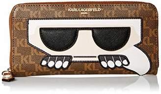 Karl Lagerfeld Paris Peeking Wallet