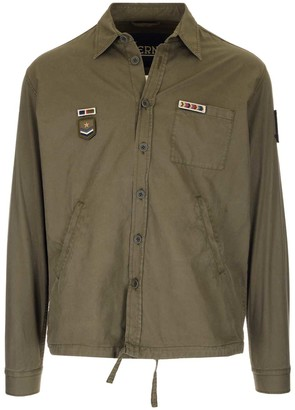 Herno Patch Collared Jacket