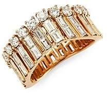 Anita Ko Women's Diamond & Gold Ava Wave Ring