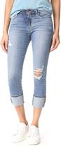 Joe's Jeans Mid Rise Skinny Crop Jeans