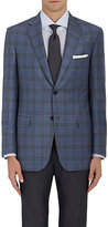 Brioni Men's Checked Wool Two-Button Sportcoat