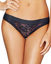 Stella McCartney Stella Lace Thong, Dark Ink Blue