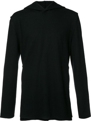 Private Stock V-neck hoodie