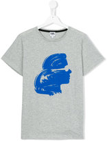 Karl Lagerfeld silhouette print T-shirt - kids - Cotton - 16 yrs