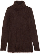 Michael Kors Mohair and wool-blend turtleneck sweater