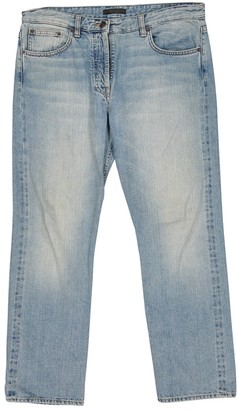 The Row Blue Cotton Jeans for Women