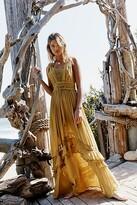 The Endless Summer Santa Maria Maxi Dress by at Free People, Ivory, XS