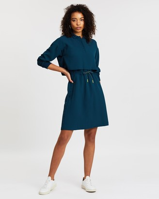 Lacoste Motion Fit-and-Flare Dress