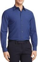 Armani Collezioni Dotted Regular Fit Button-Down Shirt