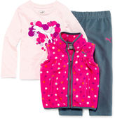 Puma Girls 3-pc. Sleeveless Pant Set-Toddler