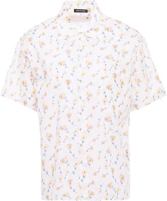 R 13 Floral-print Cotton-broadcloth Shirt