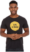 Life is Good Super Power Dot Newbury Tee