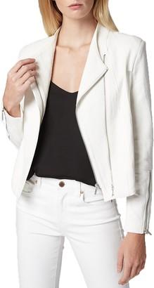 Blanknyc Denim Mesh Detail Crepe Jacket (Regular & Plus Size)