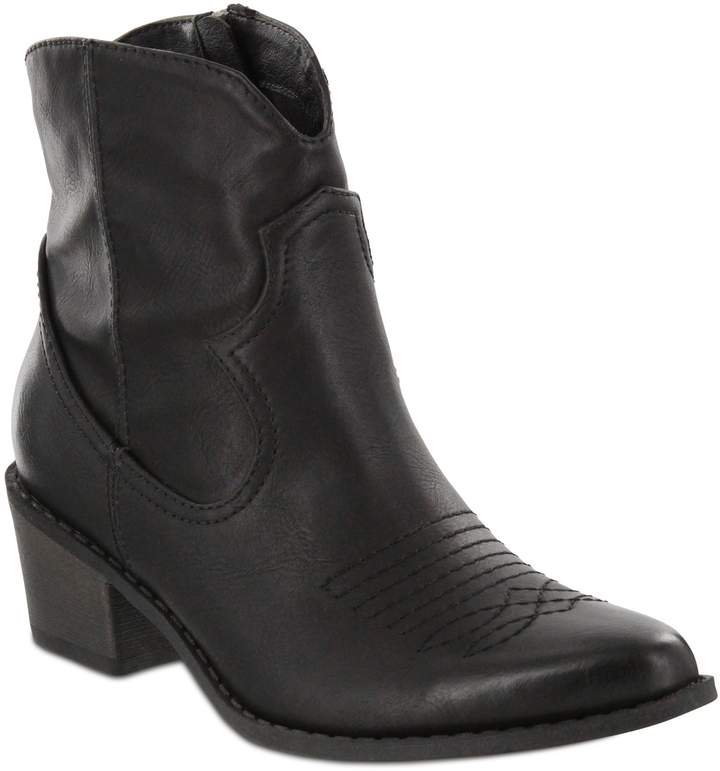 628aa5fb339 Pointed-Toe Western Boots - Esme