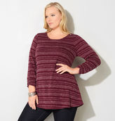 Avenue Striped Hatchi Swing Top