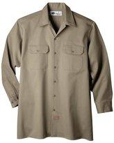 Dickies Men's Big-Tall Long Sleeve Heavyweight Cotton Work Shirt