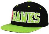 adidas Atlanta Hawks Team Jersey Mesh Snapback Cap