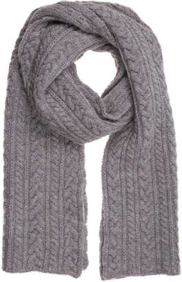 Canada Goose Cable Knit Scarf