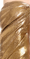Donna Karan Strapless Twist Evening Dress