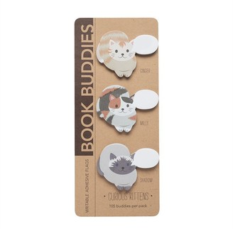 Girl Of All Work Book Buddies Curious Kittens Set Of 3 Bookmarks