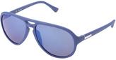 Calvin Klein Blue Aviator Sunglasses - Women