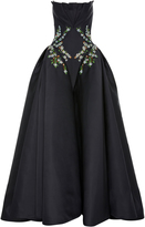 Zac Posen Duchess Embroidered Gown