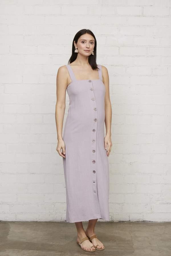 Linen Rome Dress - Wisteria-