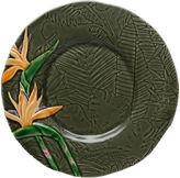 One Kings Lane Tropical Dessert Plate, Bird of Paradise