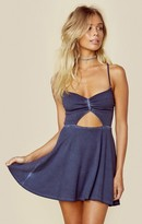 Blue Life peek a boo mini dress