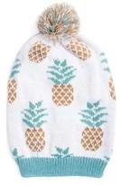 Muk Luks Women's Pineapple Slouch Beanie