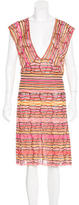 M Missoni Sleeveless Knit Dress