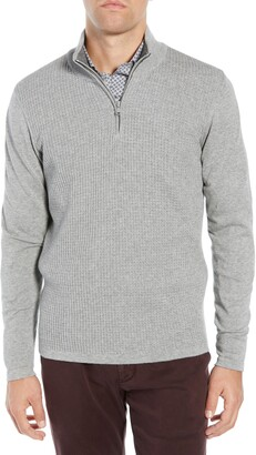 Zachary Prell Higgins Quarter Zip Sweater